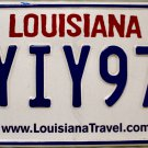 2016 Louisiana Battle of New Orleans License Plate (YIY977)
