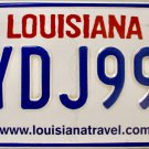 2016 Louisiana Battle of New Orleans License Plate (YDJ990)