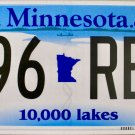 2016 Minnesota License Plate (996 REL)