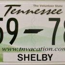 2016 Tennessee License Plate (L59 78U)