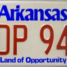 1989 Arkansas License Plate (PDP 949)