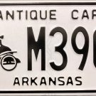 Arkansas Antique Car License Plate (M3906)
