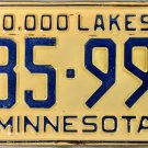 1954 Minnesota License Plate (185-993)