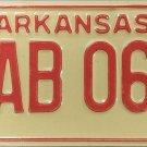 1978 Arkansas License Plate (EAB 060)