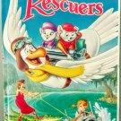 VHS: Walt Disney Classic THE RESCUERS (Black Diamond Edition) Rare!