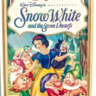 VHS: Walt Disney SNOW WHITE AND THE SEVEN DWARFS (Masterpiece Collection) Rare!