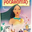 VHS: Walt Disney POCHONTAS (Masterpiece Collection) Rare!