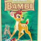 VHS: Walt Disney BAMBI (Masterpiece Collection) 55th Anniversary Rare!