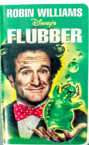 VHS: Walt Disney Home Video FLUBBER (Robin Williams)