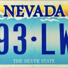 2006 Nevada License Plate (893-LWT)