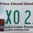 Prince Edward Island License Plate Canada (X0 216)
