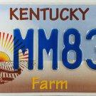 2012 Kentucky 4H - Farm - FFA License Plate (MM837)