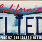 2010 California Whale Protect Our Coast & Ocean License Plate (KILTED3)