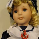 Heritage Signature Collection Nautical Nelle Porcelain Doll ~ NEW