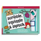American Girl Scribble, Sqiggle & Sketch book