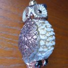 Large Shaterproof Owl Ornament Christmas Decoration