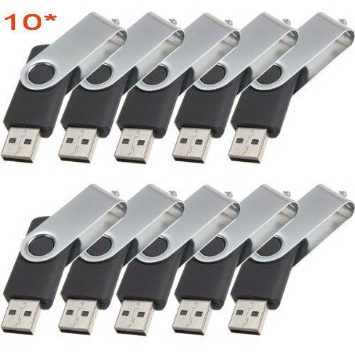 Black Swivel Custom Print Logo for Free-100pcs 512MB USB Flash Drive 2.0
