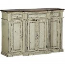 GORGEOUS MAHOGANY/PARCHMENT SHADE SIDEBOARD/BUFFET,72''WIDE X 50''H.1 LEFT!!!