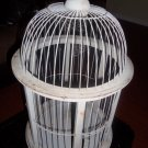 AWESOME VINTAGE INSPIRED DISTRESSED ROUND BIRD CAGE,NICE!