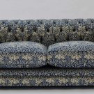 STUNNING CHIC SHABBY FRENCH COUNTRY CHESTERFIELD DELUXE LINEN BUNNIES SOFA,92'W.