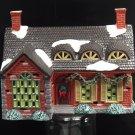 Dept 56 Snow Village Stonehurst House 1991 Snow House Series Retired