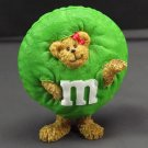 Collectible Boyd Bears and Friends Mars Green Resin M&M Retired Christmas