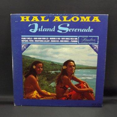 """Hal Aloma Island Serenade 12"""" Hawaiian LP Record Album Vintage 1966 Dot Records"""