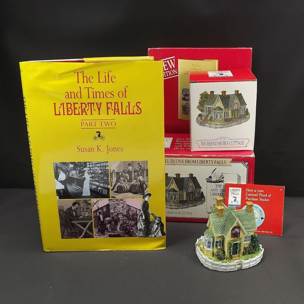 Vintage Reverend Muir's Cottage Life of Liberty Falls Book New Edition Set 1998