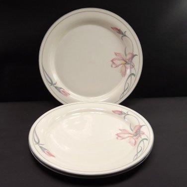 "1985-1997, Gray Trim with Verge 2 Lenox 11"" Dinner Plates Grey Pinstripes"