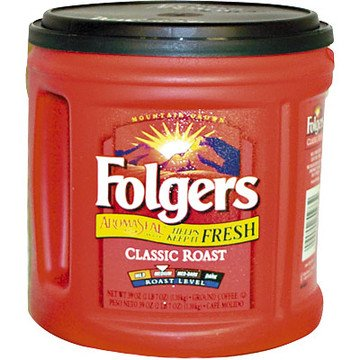 Folgers Regular Coffee, 39 oz. Can FREE SHIPPING