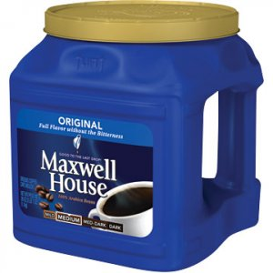 Maxwell House Coffee, Regular, 39 oz. Can FREE SHIPPING
