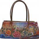 AN384 - Italian Hand-Painted Leather Handbag