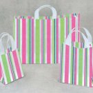 Funky Stripe Frosted Bags (large)