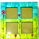 Capiz Shell Large 4 in 1 Flower Picture Frame