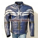 new captain america 2014 leather jacket the winter soldier movie leater costume