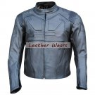 Men Tom Cruise Jack Harper Oblivion Movie Leather jacket motorcycle leather jacket with CE armours