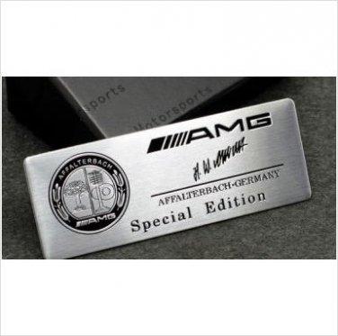 AMG AFFALTERBACH Special Edition Badge Emblem