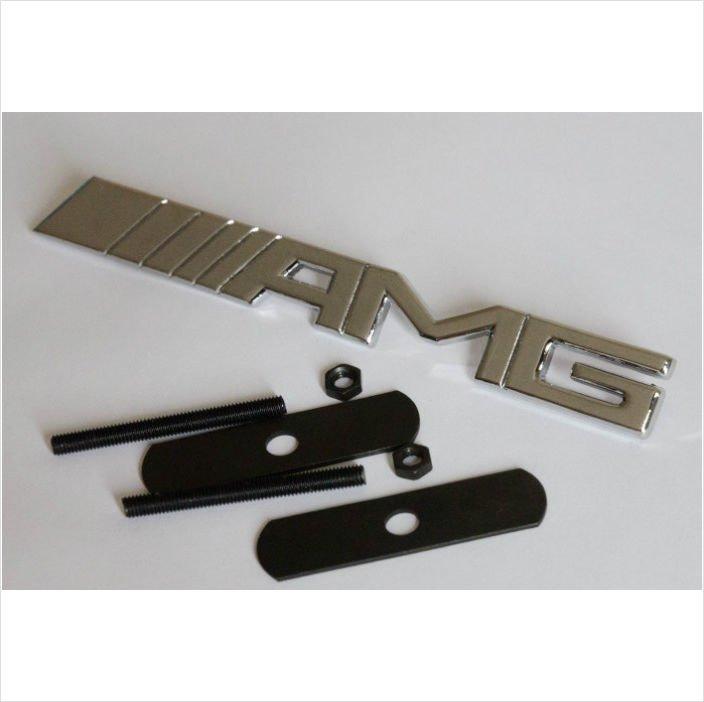 AMG Chrome 3D Grill Badge / Emblem