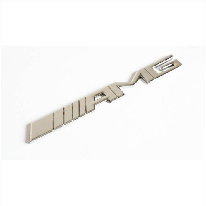 AMG Chrome 3D Rear Badge / Emblem Sticker