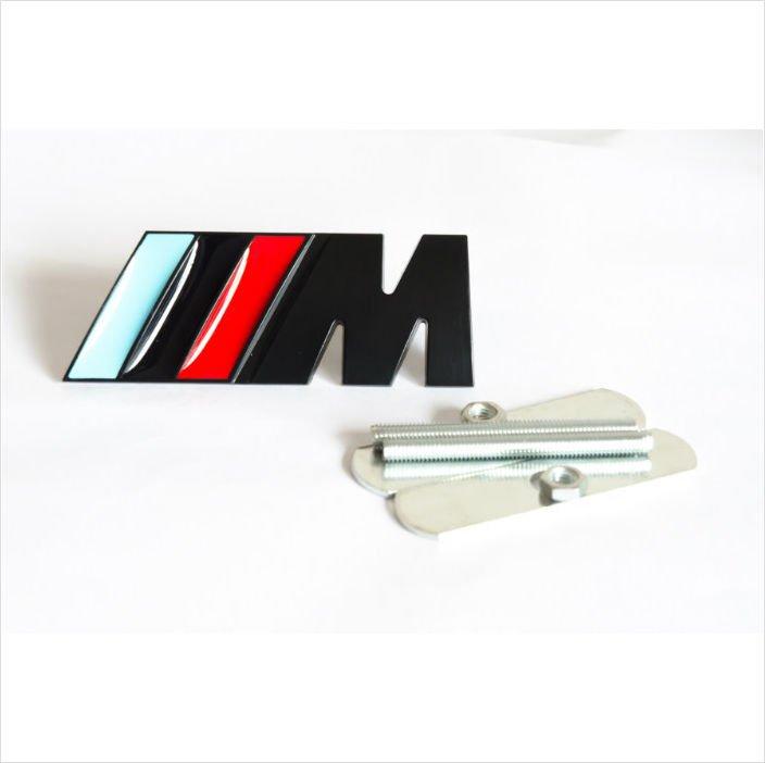 BMW ///M-tech Metal 3D Grill Badge / Emblem