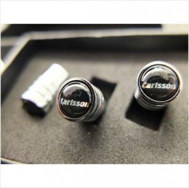 CARLSSON Valve Caps With Black Box