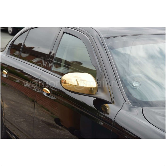 JAGUAR S TYPE Luxury 24k Gold Plated Mirror Covers
