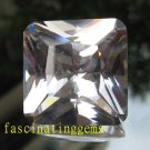 49.00CT BIG BEAUTIFUL STUNNING SQUARE BLOOD WHITE ZIRCON
