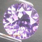 21.65CT BEAUTIFUL GLISTENING ROUND PURPLE ZIRCON