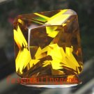 45.00CT BIG BEAUTIFUL GLISTENING SQUARE CHAMPAGNE YELLOW ZIRCON