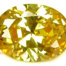 20.05CT CHARMING GLISTENING OVAL YELLOW ZIRCON