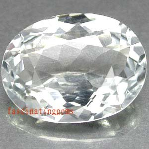 20.00CT EXCELLENT BRILLIANT OVAL WHITE ZIRCON