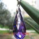 IF~40.25CT BRILLIANT FUNNELED BLUE ZIRCON PENDANT