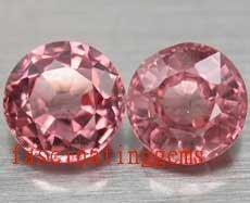 13.05CT CHARMING GLISTENING ROUND PINK ZIRCON