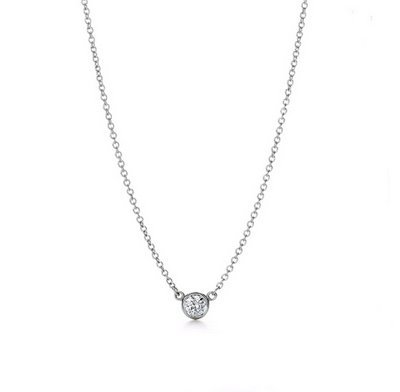 0.925 sterling silver and whter crystal necklace and pendant